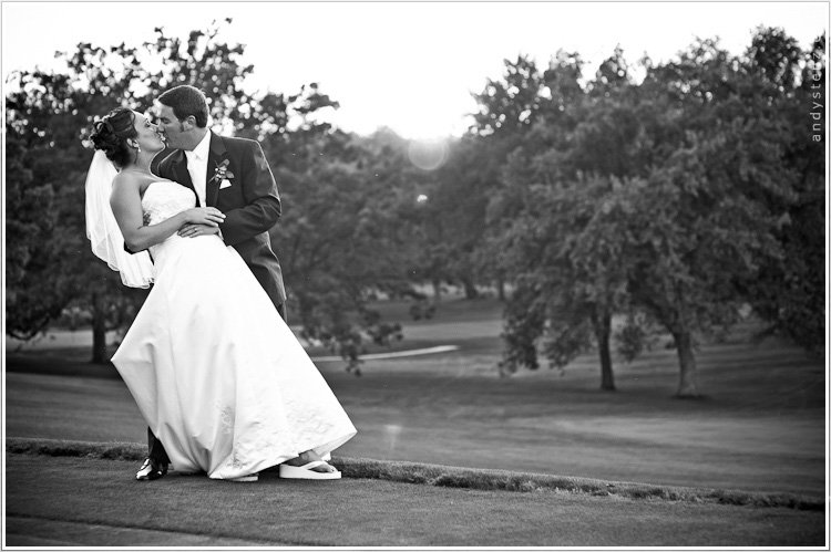 wedding photography at merrill hills country club