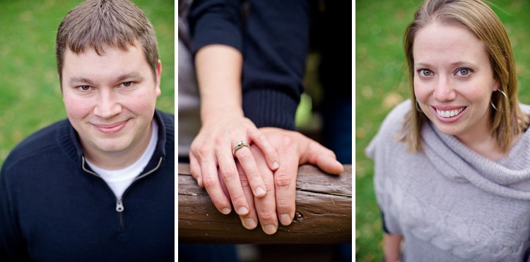 engagement photos near holy hill by lake country wedding photographer andy stenz