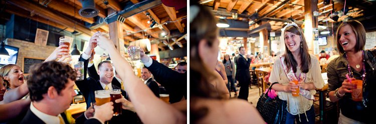 wedding at lakefront brewery in milwaukee