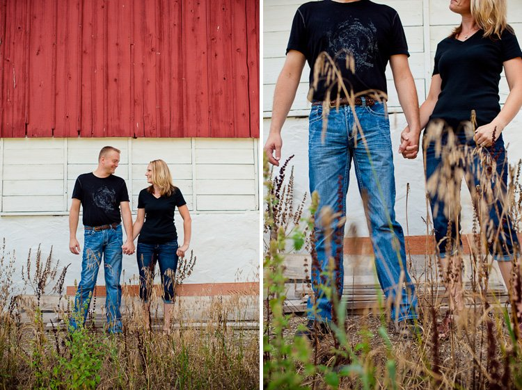 delafield wedding photographer andy stenz shooting an engagement session in wisconsin state park lapham peak