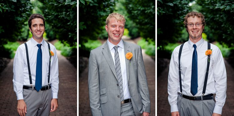 weddings photos at olbich gardens and a backyard reception in madison wisconsin