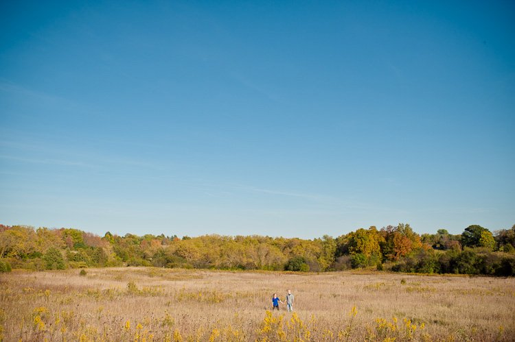 nashotah park engagement sesssion by lake country wedding photographer andy stenz