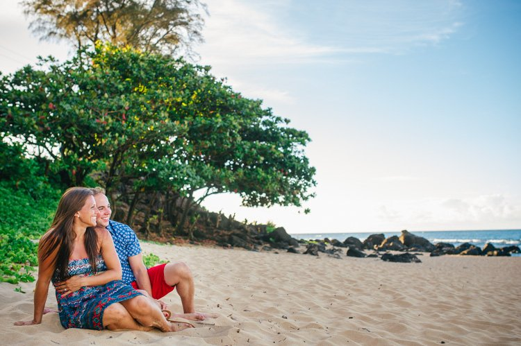 kauai proposal photography - hawaii wedding photographer andy stenz