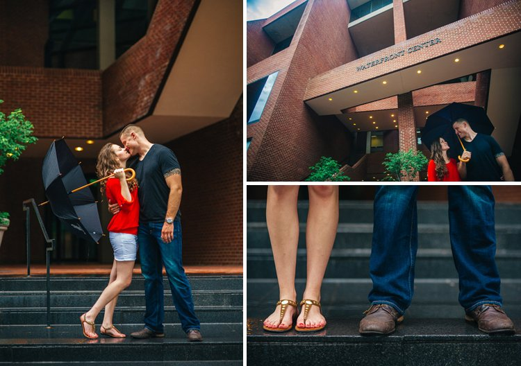washington dc georgetown engagement photos