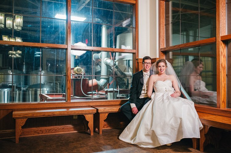 haley and jerry lakefront brewery wedding in milwaukee