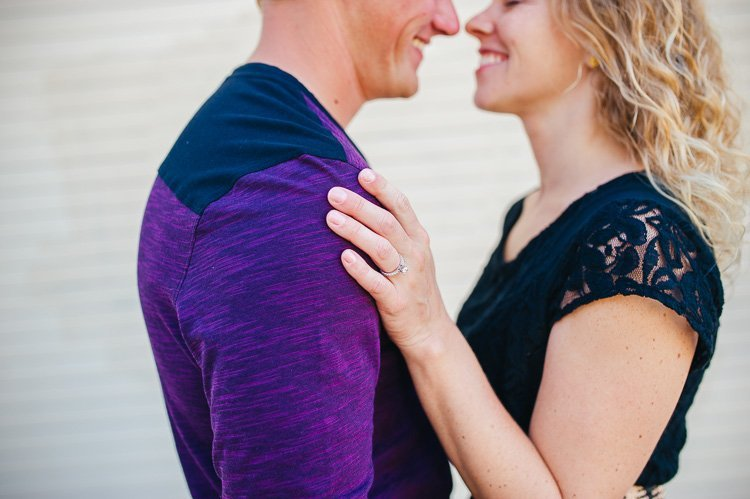hilary and chaz milwaukee modern engagement photography