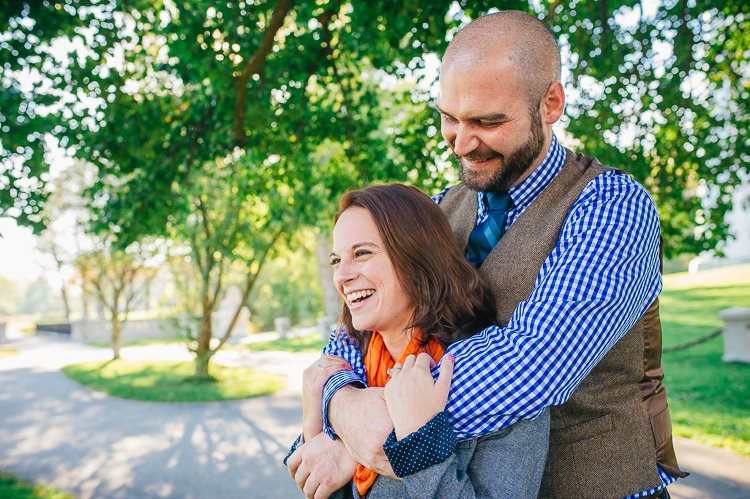kelly and david's milwaukee engagement photography