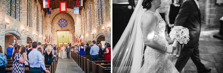 lexie+collin's wedding photos - st john's academy chapel in delafield