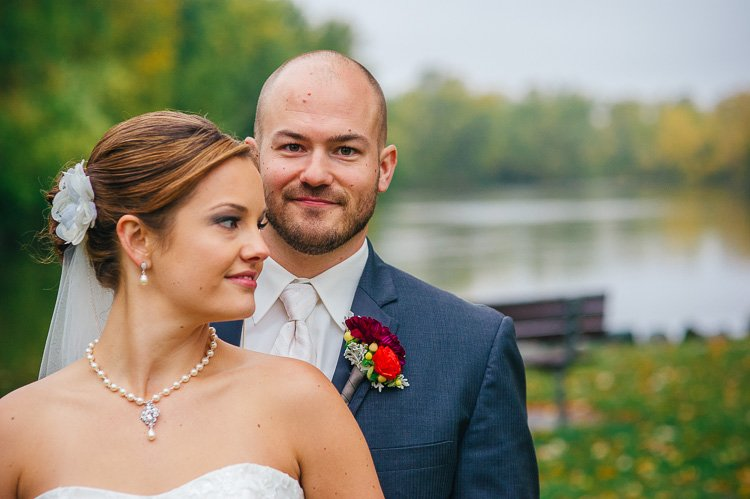 sarah and andrew's wausau wedding