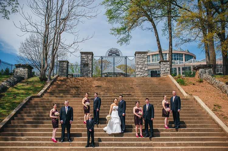atlanta spring wedding
