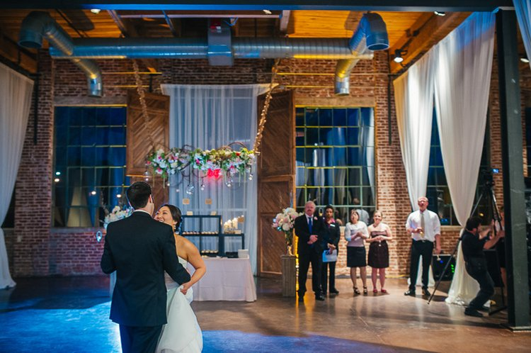 wedding at the foundry at puritan mill by andy stenz