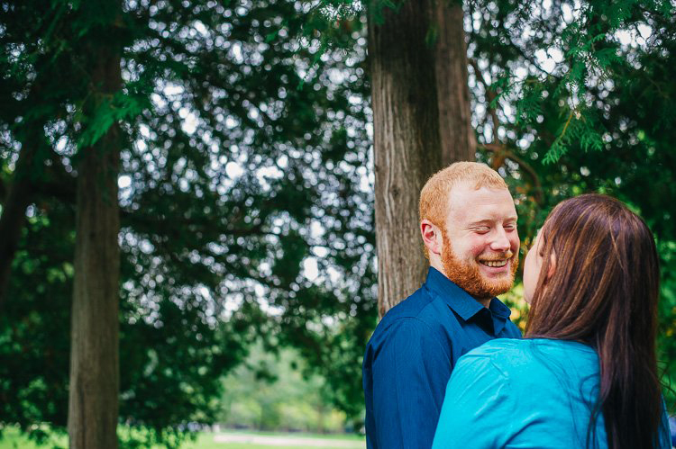 carrie+greg's greenfield park engagement session in milwaukee