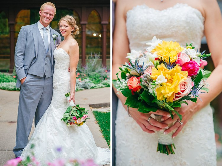 hilary and chaz's madison capitol square wedding