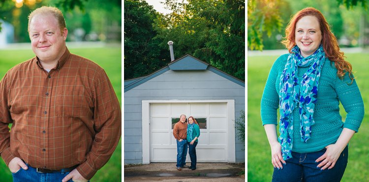 julie and pete lake country wisconsin engagement photography