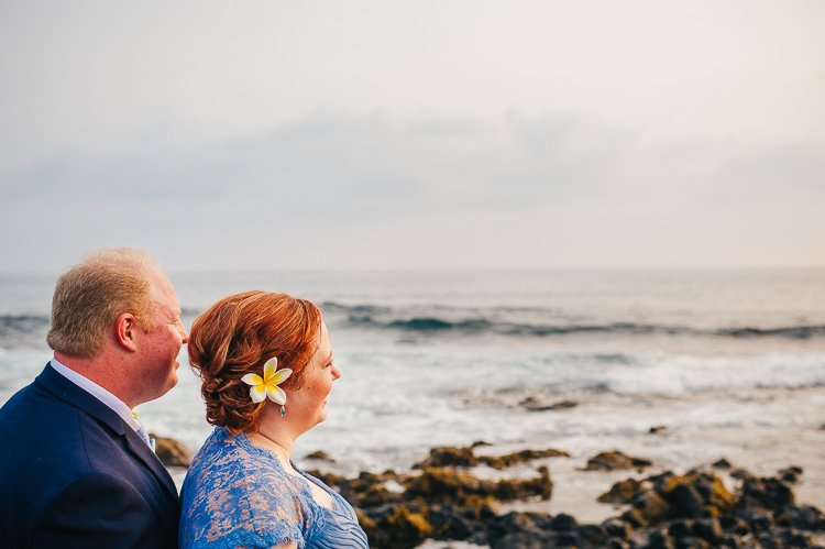 julie peter kona-kailua big island hawaii wedding at ke alohi kai