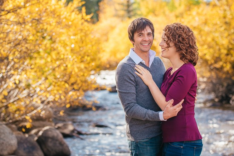 katie and kevin's rocky mountain colorado engagement session in nederland and Brainard Lake