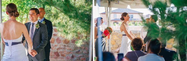leah and freddy el paso small intimate backyard wedding