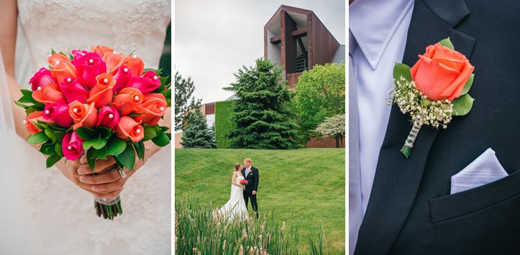 kira and peter's wedding at elmbrook church in brookfield - wisconsin wedding photographer andy stenz