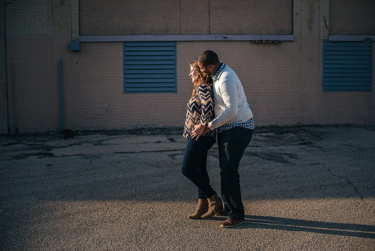 marie and jarius's madison beloved engagement session