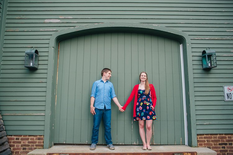 natalie and will's delafield engagement session