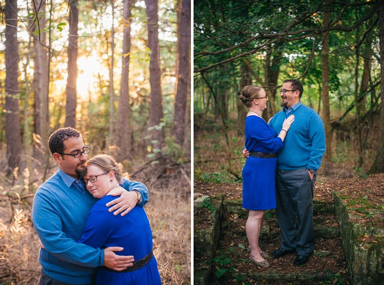 sandra and gabe's fall wisconsin engagement session at paradise springs nature trail