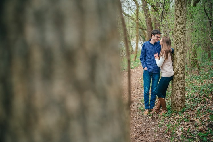 ashley and dan's wauwatosa beloved engagement session
