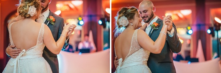 holly and eric's waukesha country springs wedding