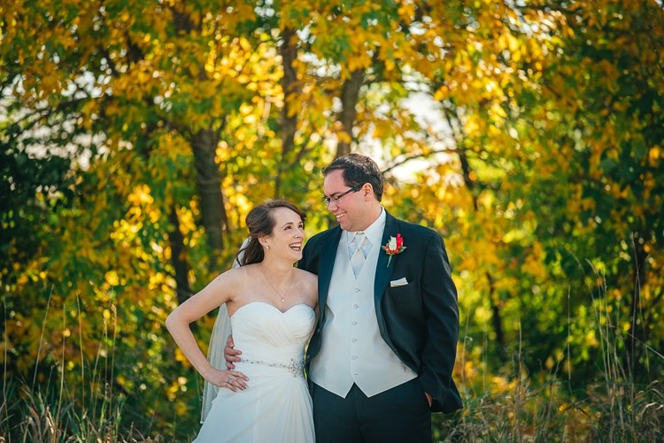 kailee and paul's fall wisconsin wedding at camelot