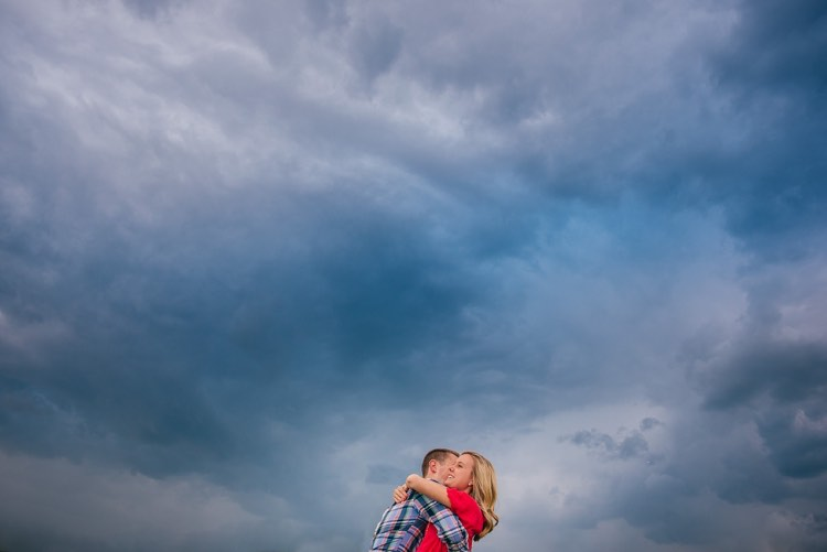 natalie and rex's milwaukee engagement session